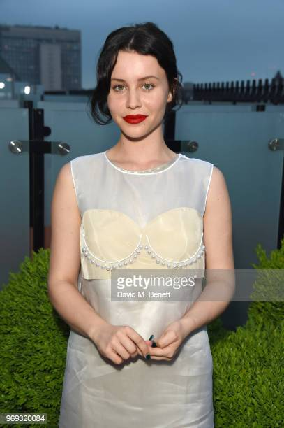 """Billie JD Porter attends the launch of Mytheresa.com's magazine """"The Album"""" at The London EDITION on June 7, 2018 in London, England."""