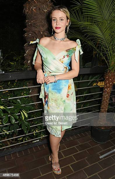 Billie JD Porter attends the launch of the Cool Earth Goes Global initiative hosted by Dame Vivienne Westwood and Andreas Kronthaler at The...