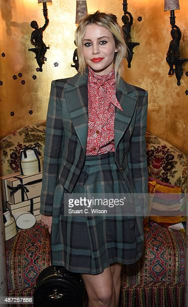 Billie JD Porter attends the Links Of London 25th Anniversary Event at Loulou's on September 7 2015 in London England