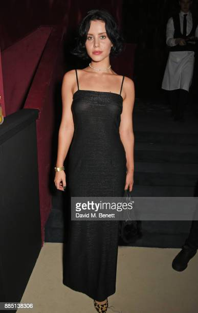 Billie JD Porter attends the London Evening Standard Theatre Awards 2017 after party at the Theatre Royal, Drury Lane, on December 3, 2017 in London,...