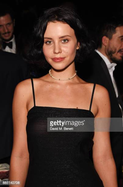 Billie JD Porter attends the London Evening Standard Theatre Awards 2017 after party at the Theatre Royal Drury Lane on December 3 2017 in London...