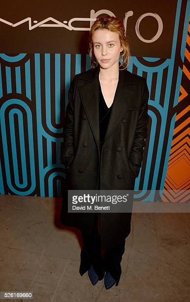 Billie JD Porter attends the MAC Pro to Pro Textile Party at London's Camden Roundhouse on April 29 2016 in London England