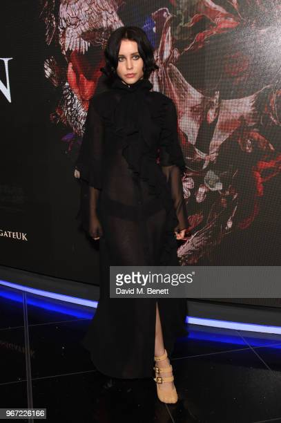 Billie JD Porter attends the UK Premiere of McQueen at Cineworld Leicester Square on June 4 2018 in London England