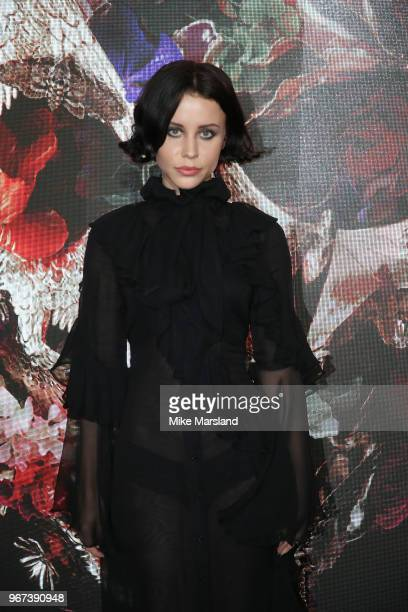 Billie JD Porter attends the UK premiere of 'McQueen' at Cineworld Leicester Square on June 4 2018 in London England