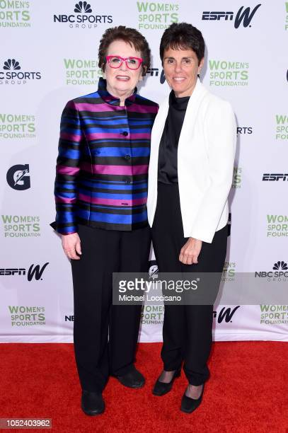 Billie Jean King and Ilana Kloss attend The Women's Sports Foundation's 39th Annual Salute To Women In Sports And The Girls They Inspire Awards Gala...