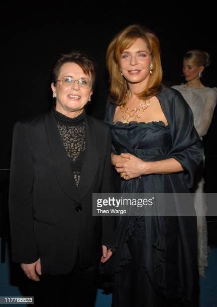 Billie Jean King and Queen Noor of Jordan * EXCLUSIVE *