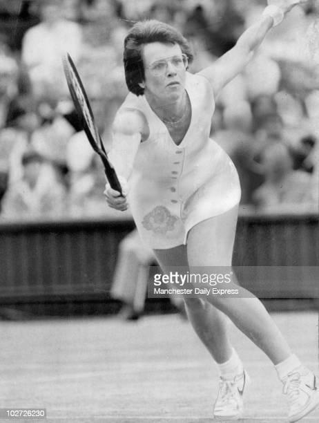 Billie Jean King at Wimbledon 1983 Billie Jean King at Wimbledon 1983