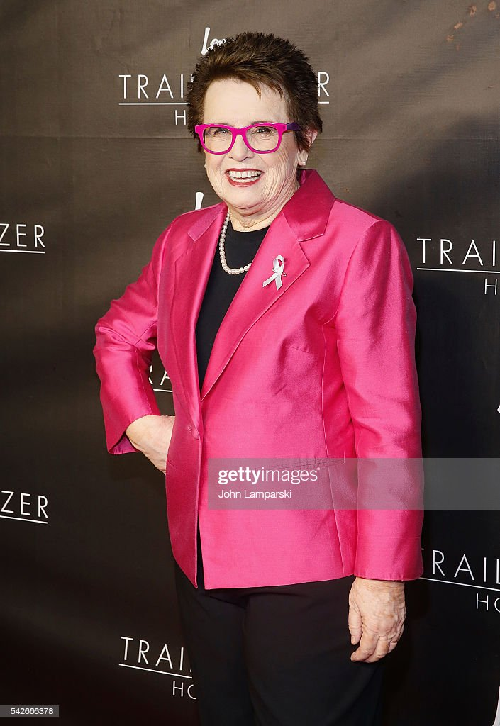 Billie Jean King attends 2016 Trailblazer Honors at Cathedral of St. John the Divine on June 23, 2016 in New York City.