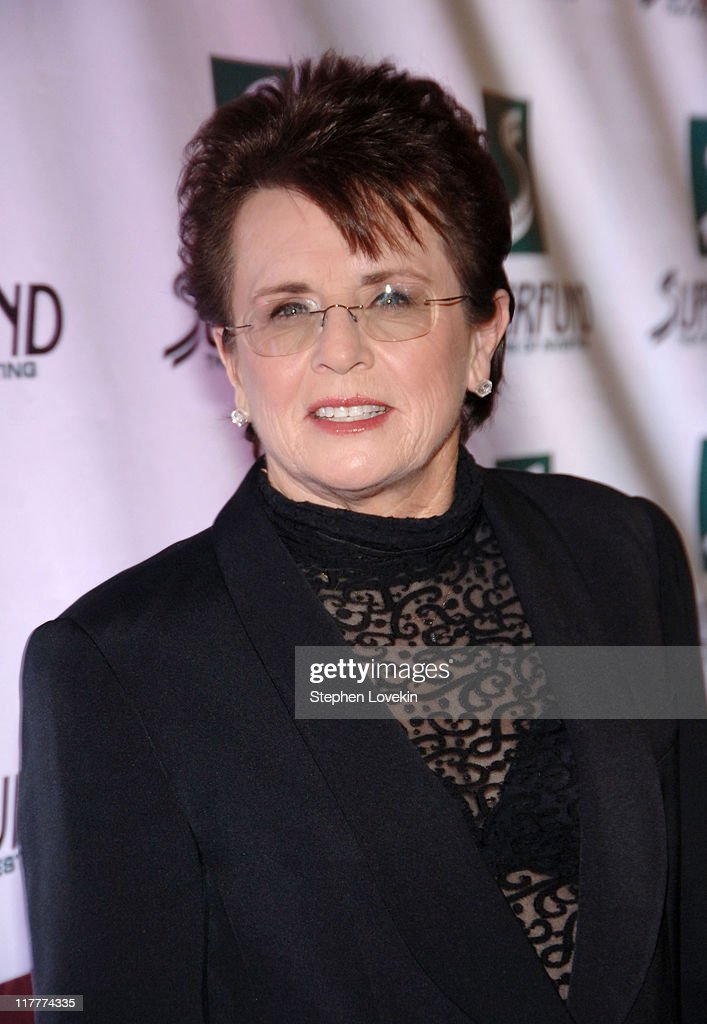 Billie Jean King during The 2006 Women's World Awards - Red Carpet at The Hammerstein Ballroom in New York City, New York, United States.