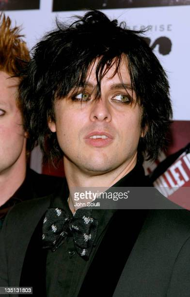"""Billie Jo Armstrong of Green Day during Green Day's """"Bullet in a Bible"""" Los Angeles Premiere - Arrivals at Arclight Theatre in Hollywood, California,..."""