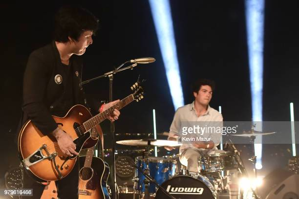 Billie Joe Armstrong and Joey Armstrong perform during A Special Evening With Billie Joe Armstrong presented by Citi and Live Nation at Cannes Lions...