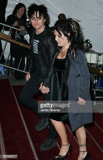 Billie Joe Armstrong And Wife Adrienne During AngloMania Costume Institute Gala At The Metropolitan Museum