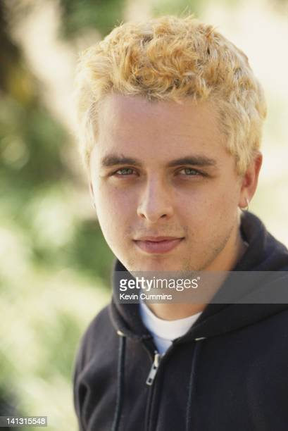 Billie Joe Armstrong lead singer and guitarist with American punk group Green Day San Francisco California July 1995