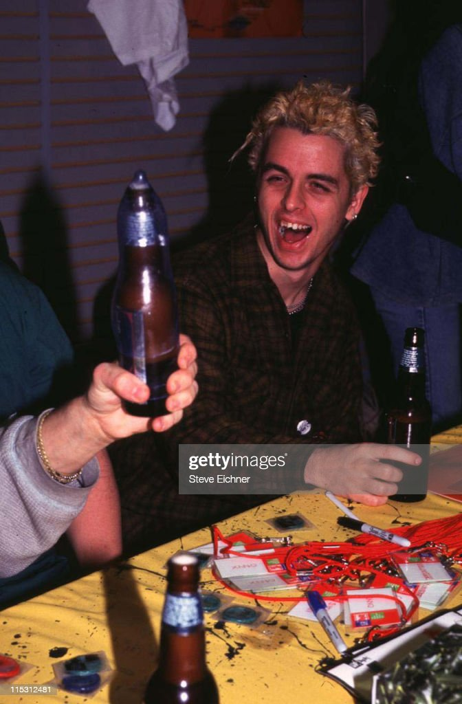 Billy Joe of Green Day at Party