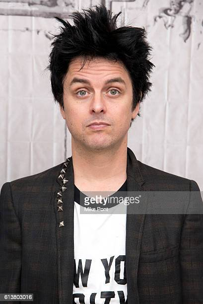 Billie Joe Armstrong of Green Day attends the Build Series to discuss the film Ordinary World at AOL HQ on October 10 2016 in New York City