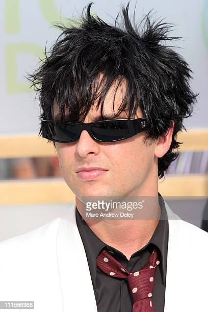 Billie Joe Armstrong of Green Day during 2005 MTV Video Music Awards Arrivals at American Airlines Arena in Miami Florida United States
