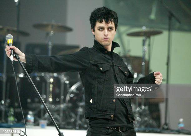 Billie Joe Armstrong of Green Day during GM Rocks Award Season With Cars Stars and Fashion Arrivals and Inside at Sunset and Vine in Hollywood...