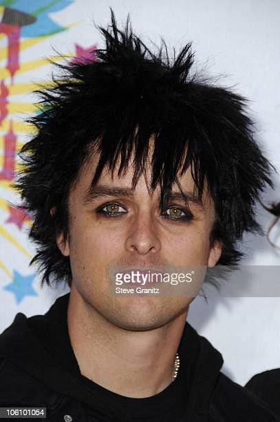 Billie Joe Armstrong of Green Day during Nickelodeon's 19th Annual Kids' Choice Awards Arrivals at Pauley Pavilion in Westwood California United...