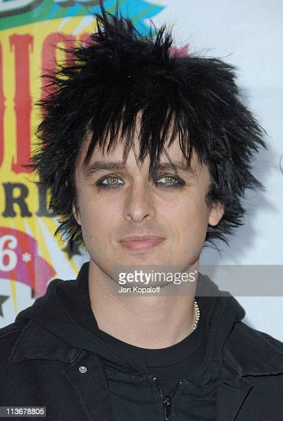 Billie Joe Armstrong of Green Day during Nickelodeon's 19th Annual Kids' Choice Awards Arrivals at Pauley Pavillion in West wood California United...