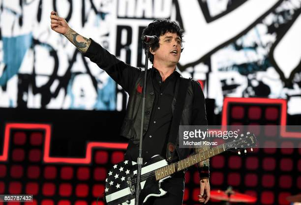 Billie Joe Armstrong of Green Day performs onstage during the 2017 Global Citizen Festival in Central Park to End Extreme Poverty by 2030 at Central...