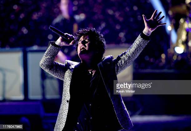Billie Joe Armstrong of Green Day performs onstage during the 2019 iHeartRadio Music Festival at T-Mobile Arena on September 20, 2019 in Las Vegas,...