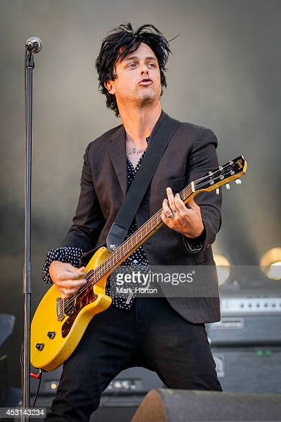 Billie Joe Armstrong performs with The Replacements on Day 3 of the Osheaga Music and Art Festival on August 3 2014 in Montreal Canada