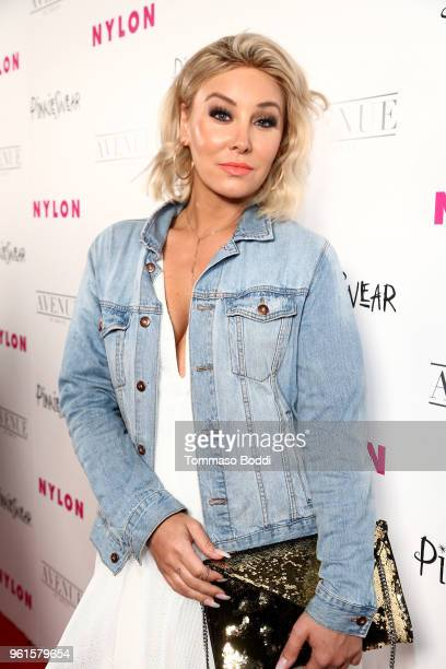 Billie Lee attends NYLON's Annual Young Hollywood Party sponsored by Pinkie Swear at Avenue Los Angeles on May 22 2018 in Hollywood California