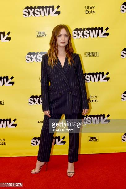 Billie Lourd attends Featured Session Booksmart Women during the 2019 SXSW Conference and Festivals at Austin Convention Center on March 11 2019 in...