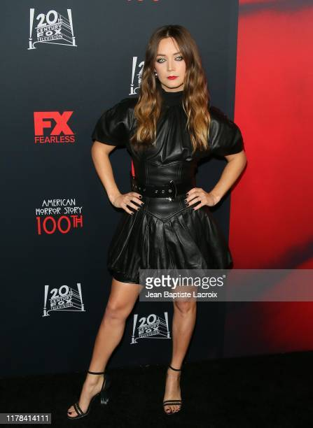 """Billie Lourd attends FX's """"American Horror Story"""" 100th Episode Celebration at Hollywood Forever on October 26, 2019 in Hollywood, California."""