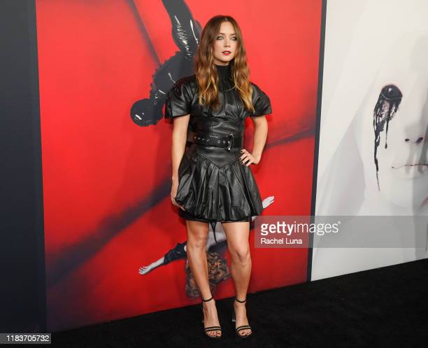Billie Lourd attends FX's American Horror Story 100th Episode Celebration at Hollywood Forever on October 26 2019 in Hollywood California