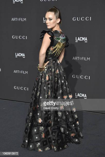 Billie Lourd attends LACMA Art Film Gala 2018 at Los Angeles County Museum of Art on November 3 2018 in Los Angeles CA