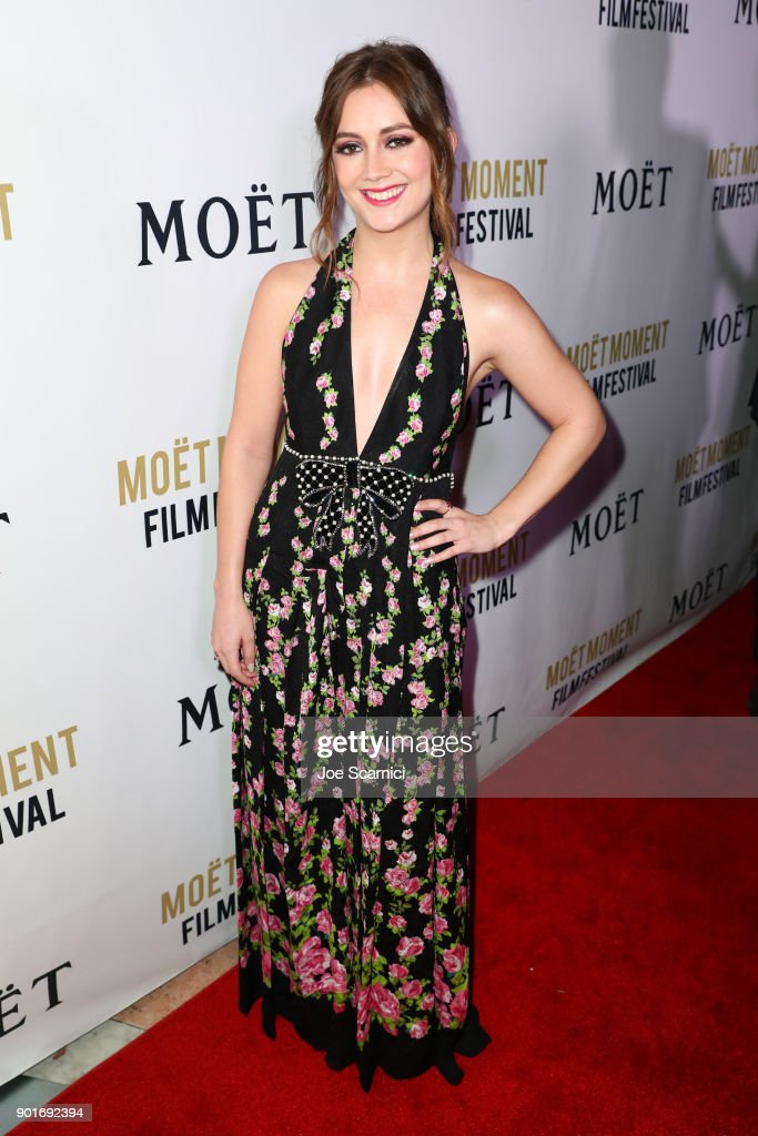 Moet & Chandon Celebrates The 3rd Annual Moet Moment Film Festival and Kicks off Golden Globes Week : News Photo