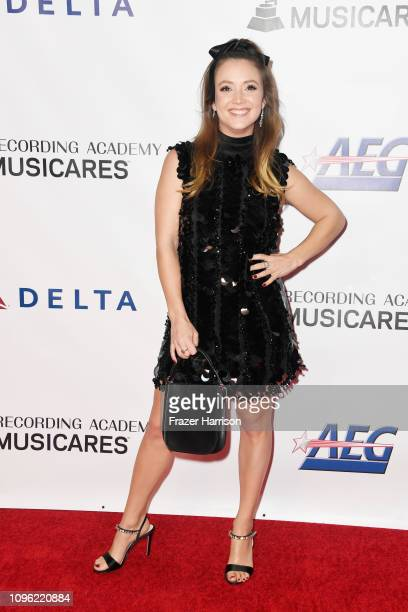 Billie Lourd attends MusiCares Person of the Year honoring Dolly Parton at Los Angeles Convention Center on February 8 2019 in Los Angeles California