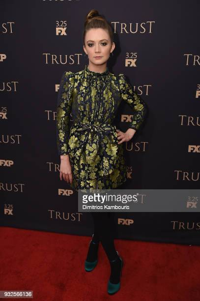 Billie Lourd attends the 2018 FX Annual AllStar Party at SVA Theater on March 15 2018 in New York City