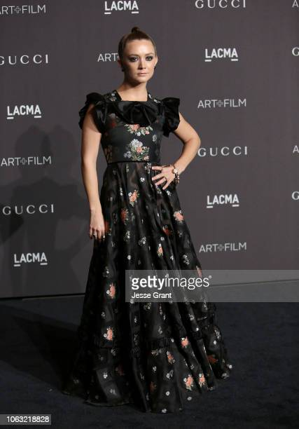 Billie Lourd attends the 2018 LACMA Art Film Gala at LACMA on November 03 2018 in Los Angeles California