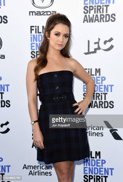Billie Lourd attends the 2020 Film Independent Spirit Awards on February 08 2020 in Santa Monica California
