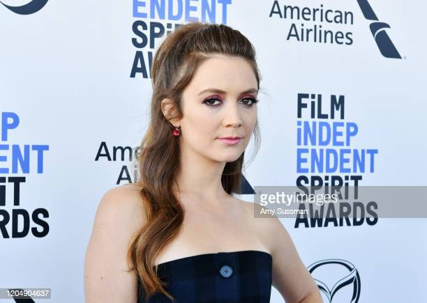 Billie Lourd attends the 2020 Film Independent Spirit Awards on February 08 2020 in Santa Monica California