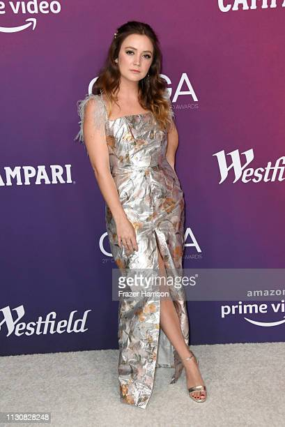 Billie Lourd attends The 21st CDGA at The Beverly Hilton Hotel on February 19 2019 in Beverly Hills California