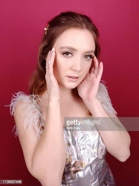 Billie Lourd attends the 21st Costume Designers Guild Awards x Getty Images Portrait Studio presented by LG V40 ThinQ on February 19 2019 in Beverly...