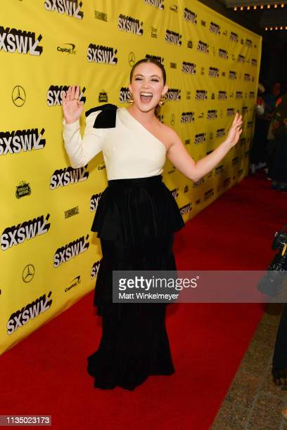 Billie Lourd attends the Booksmart Premiere 2019 SXSW Conference and Festivals at Paramount Theatre on March 10 2019 in Austin Texas