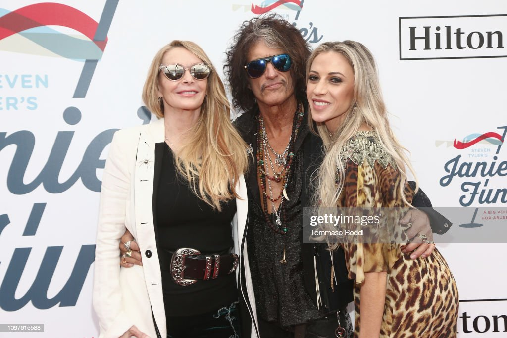 Steven Tyler's 2nd Annual GRAMMY Awards Viewing Party To Benefit Janie's Fund Presented By Live Nation - Red Carpet : News Photo