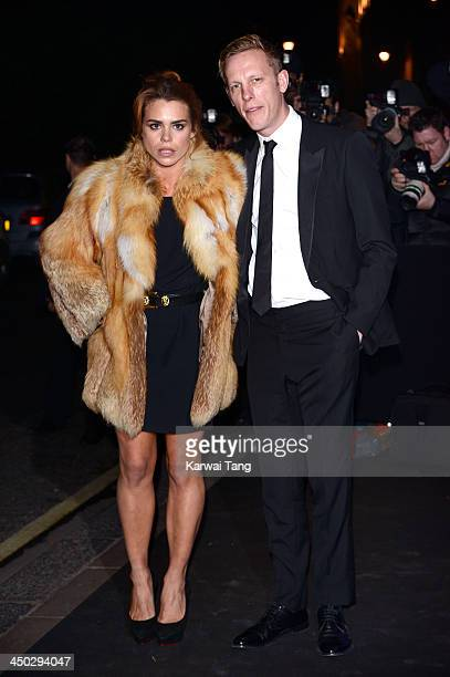 Billie Piper and Laurence Fox arrive for the London Evening Standard Theatre Awards held at the Savoy Hotel on November 17 2013 in London England