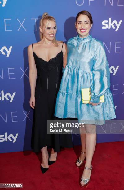 Billie Piper and Lucy Prebble attend the Sky TV Up Next Event at Tate Modern on February 12 2020 in London England Up Next is Sky's inaugural...