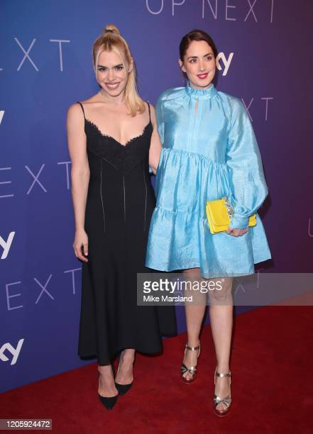 Billie Piper and Lucy Prebble attend the Sky Up Next 2020 at Tate Modern on February 12 2020 in London England