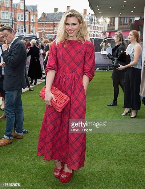 Billie Piper attends the Live Premiere of 'London Road' at Ritzy Brixton on June 9 2015 in London England