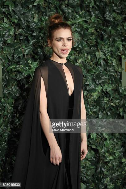 Billie Piper attends The London Evening Standard Theatre Awards at The Old Vic Theatre on November 13 2016 in London England