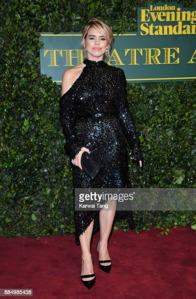 Billie Piper attends the London Evening Standard Theatre Awards at Theatre Royal on December 3 2017 in London England
