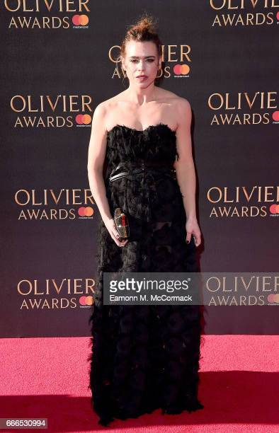 Billie Piper attends The Olivier Awards 2017 at Royal Albert Hall on April 9 2017 in London England