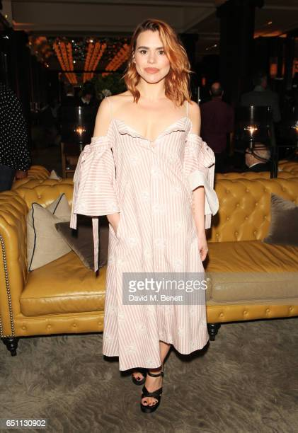 Billie Piper attends the Olivier Awards 2017 nominees celebration at Rosewood London on March 10 2017 in London England