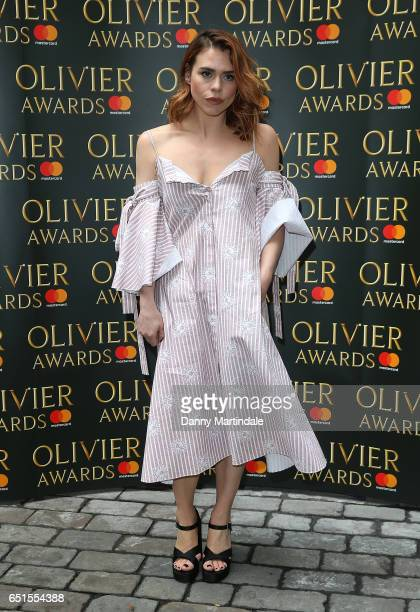 Billie Piper attends the Olivier Awards nominations celebration on March 10 2017 in London United Kingdom